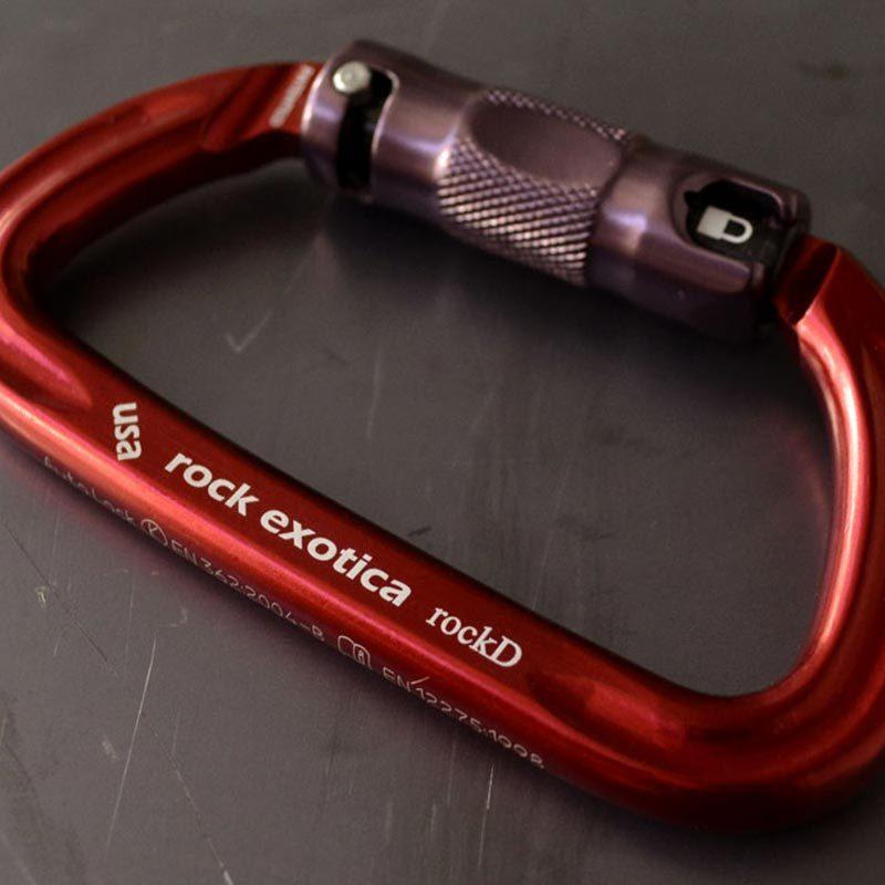 Rock Exotica rockD Auto-Lock Carabiner Support