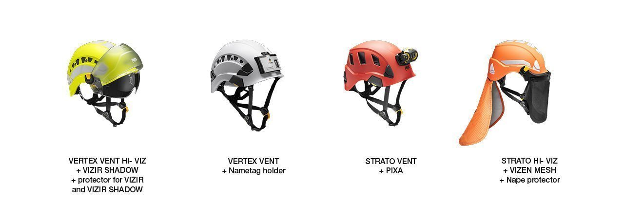 Petzl-vertex-and-strato-helmets